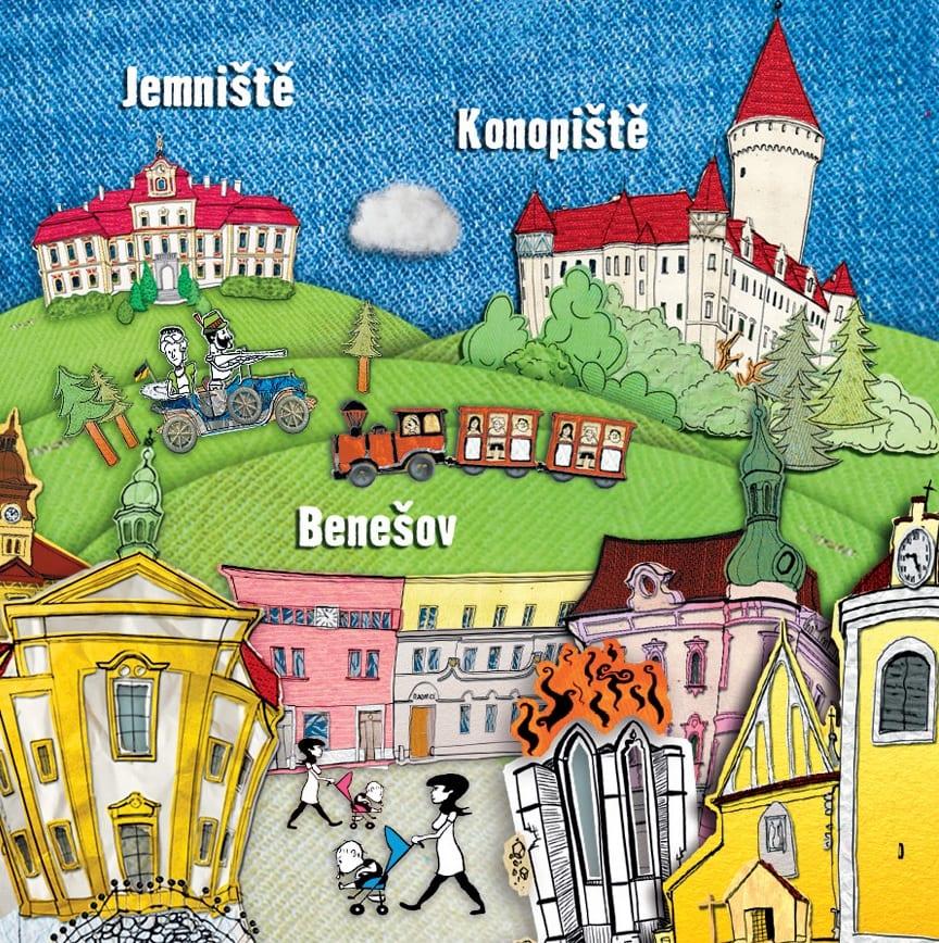 Benešovsko pro děti i nadšence historie, a plné novinek!