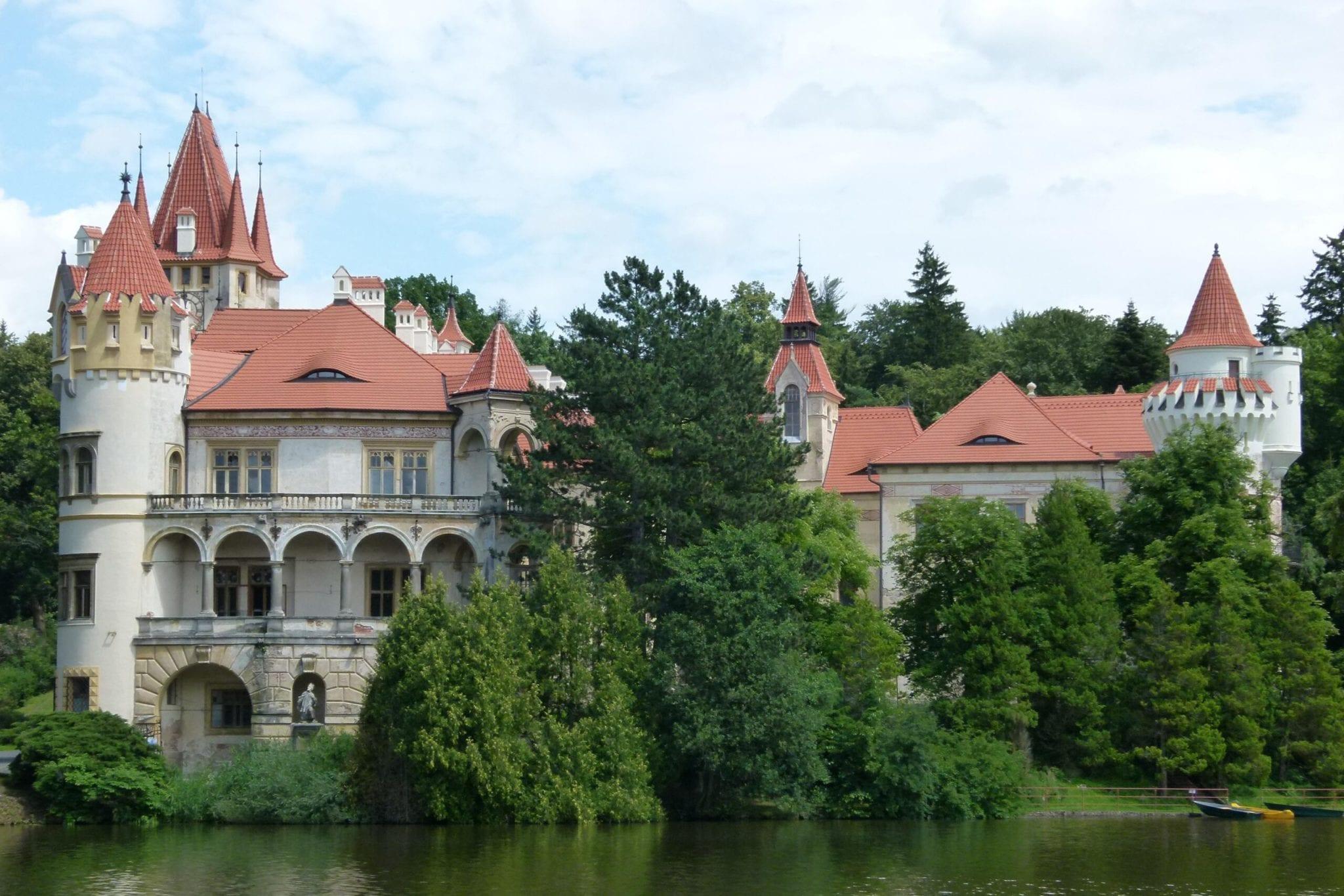 Unikátní prohlíka zámku Žinkovy
