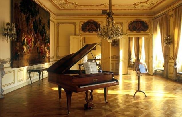 Interiery běžně nepřístupného paláce