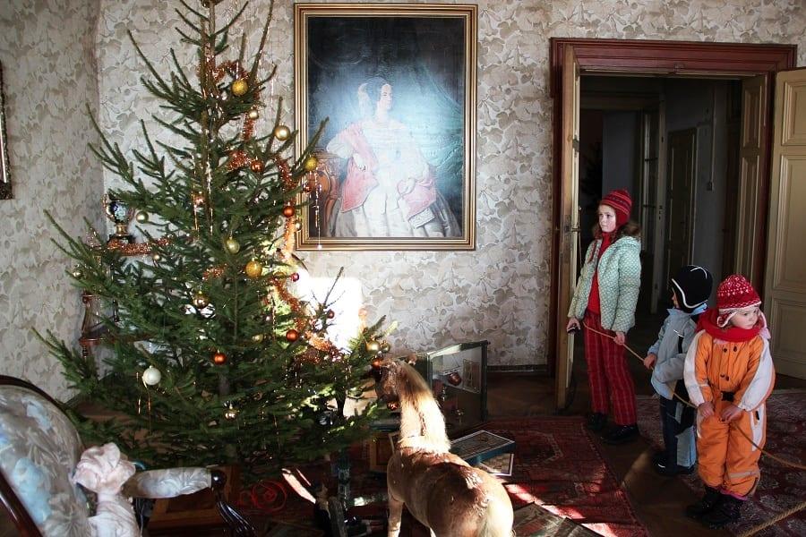 Kam s dětmi na výtel o Vánocích
