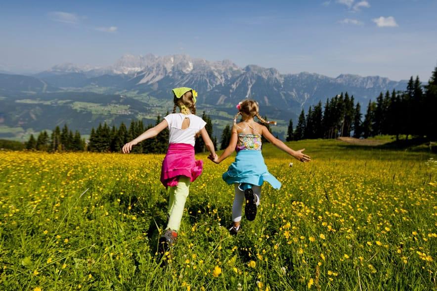 Na Planai ve Schladmingu C Steiermark Tourismus