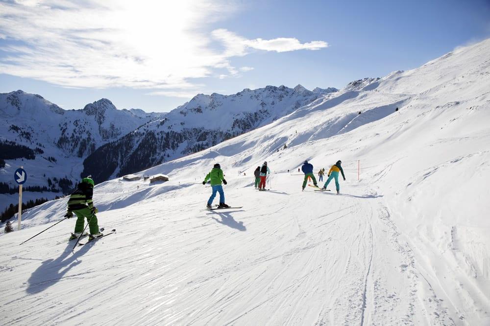 Alpbachtal- sjezdovka na Wiedersbergerhornu Ş Ski Juwel Alpbachtal Wildschönau